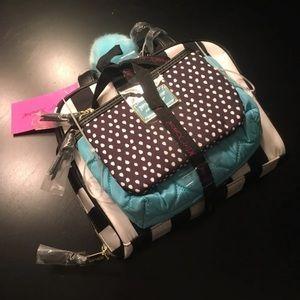 Betsey Johnson Cosmetic Bag Set